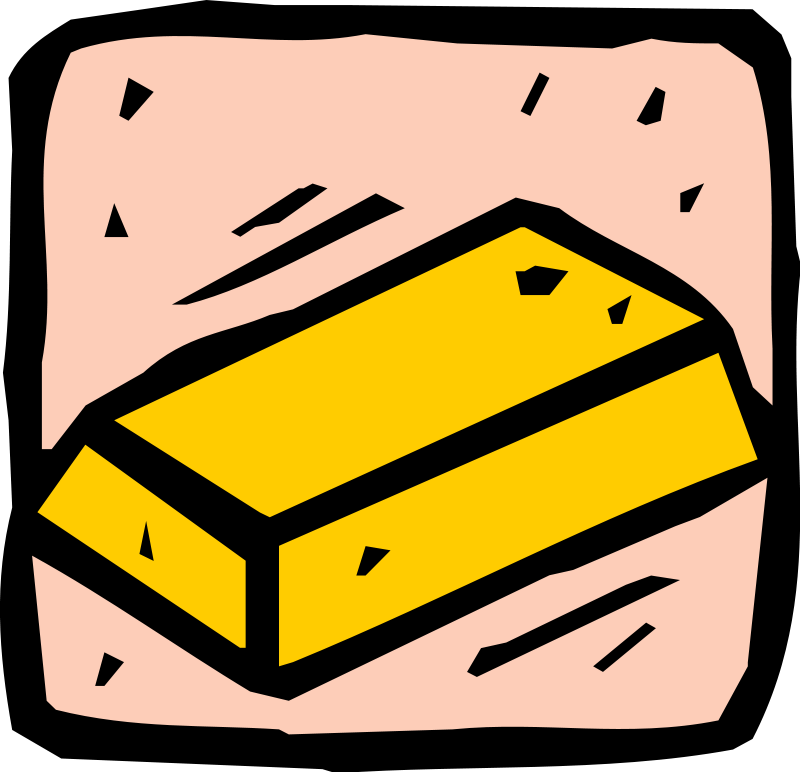 Gold bars free money clipart money clipart org