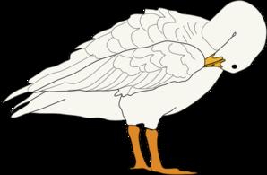 Goose clip art at clker vector clip art free 2