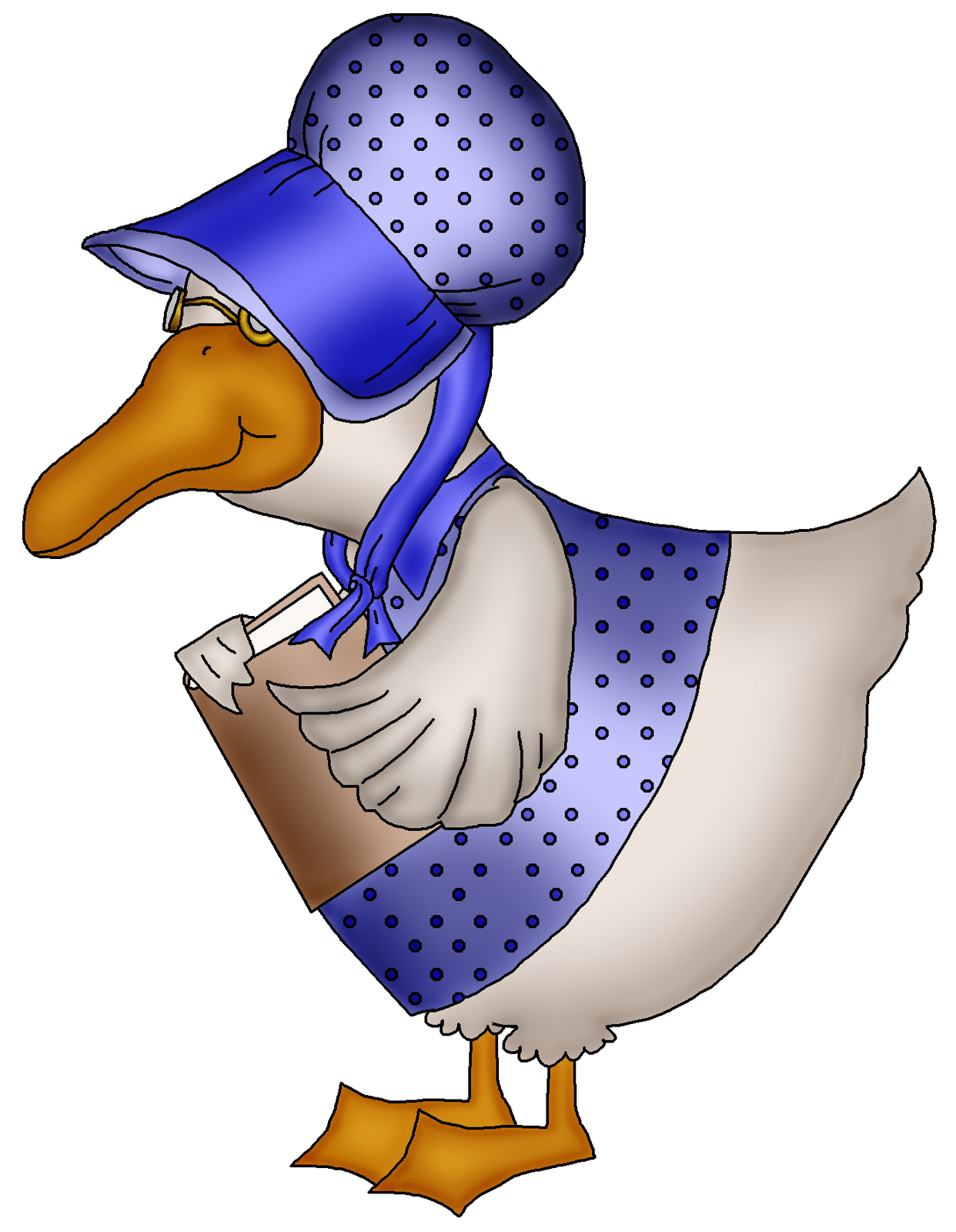 Mother goose clip art clipart