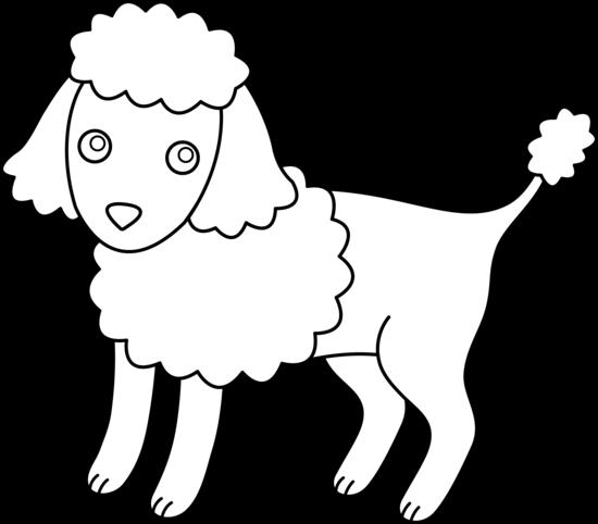 Poodle clip art co