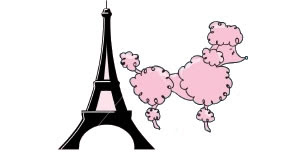 Poodle paris clip art hostted 3