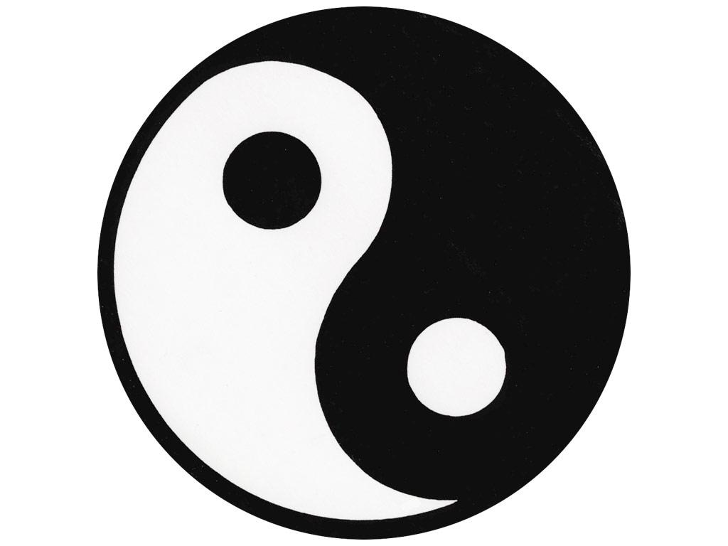 Yin yang artwork clipart