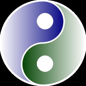 Yin yang clip art at clker vector clip art 3