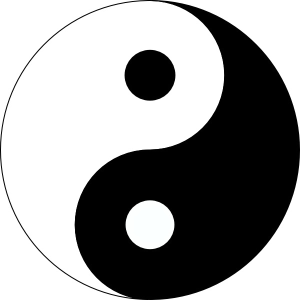 Yin yang clip art free vector in open office drawing svg svg