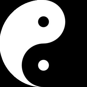 Yin yang clipart clipart