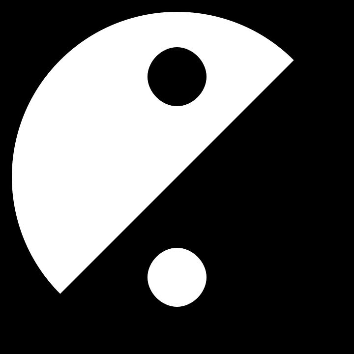 Yin yang free vector graphic yinyang yin and yang yang yin free image clip art