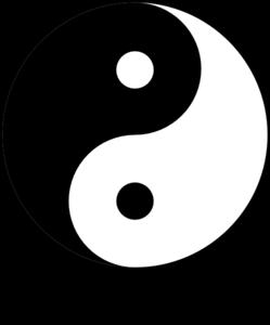 Yin yang ying yang 8 clip art at clker vector clip art