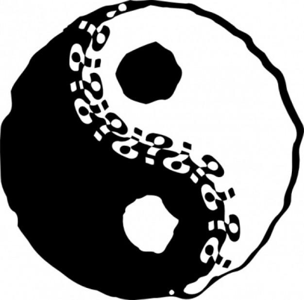 Yin yang ying yang clip art clipart 4