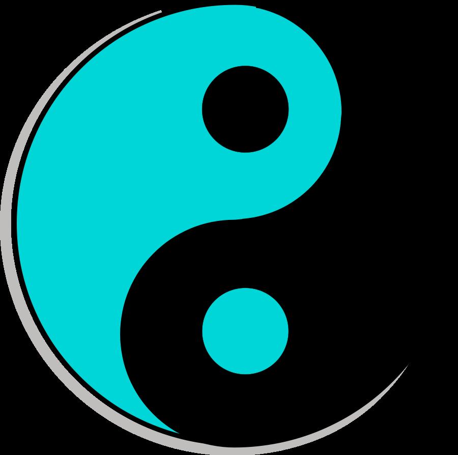 Yin yang ying yang clip art clipart
